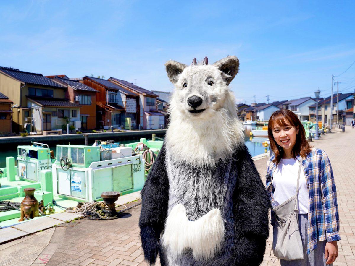 【富山県射水市 内川にて】日本のベニスを散歩してきたちゃ!