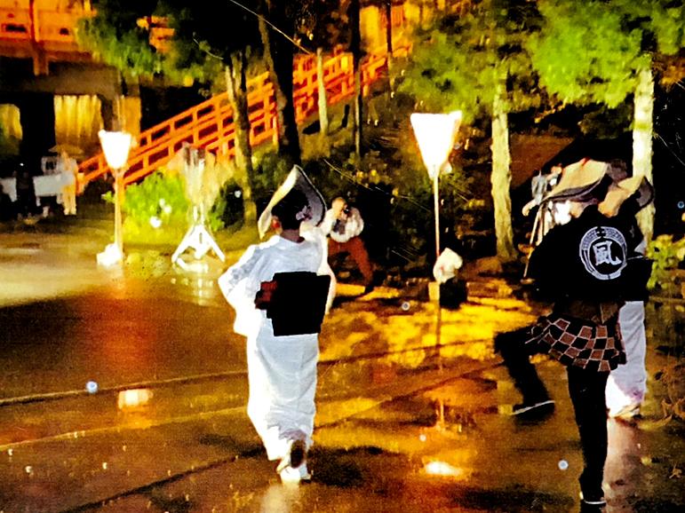 上市町日石寺の大岩おわら宵の盆に行くちゃ!